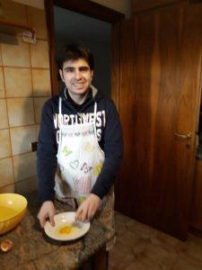 Nicolo in cucina