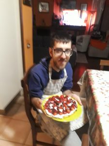 Alle in cucina