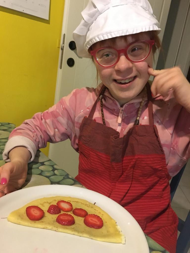 Sara in cucina
